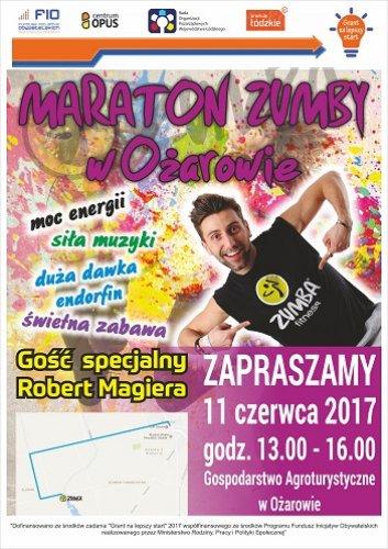 Już niebawem Maraton Zumby wOżarowie!