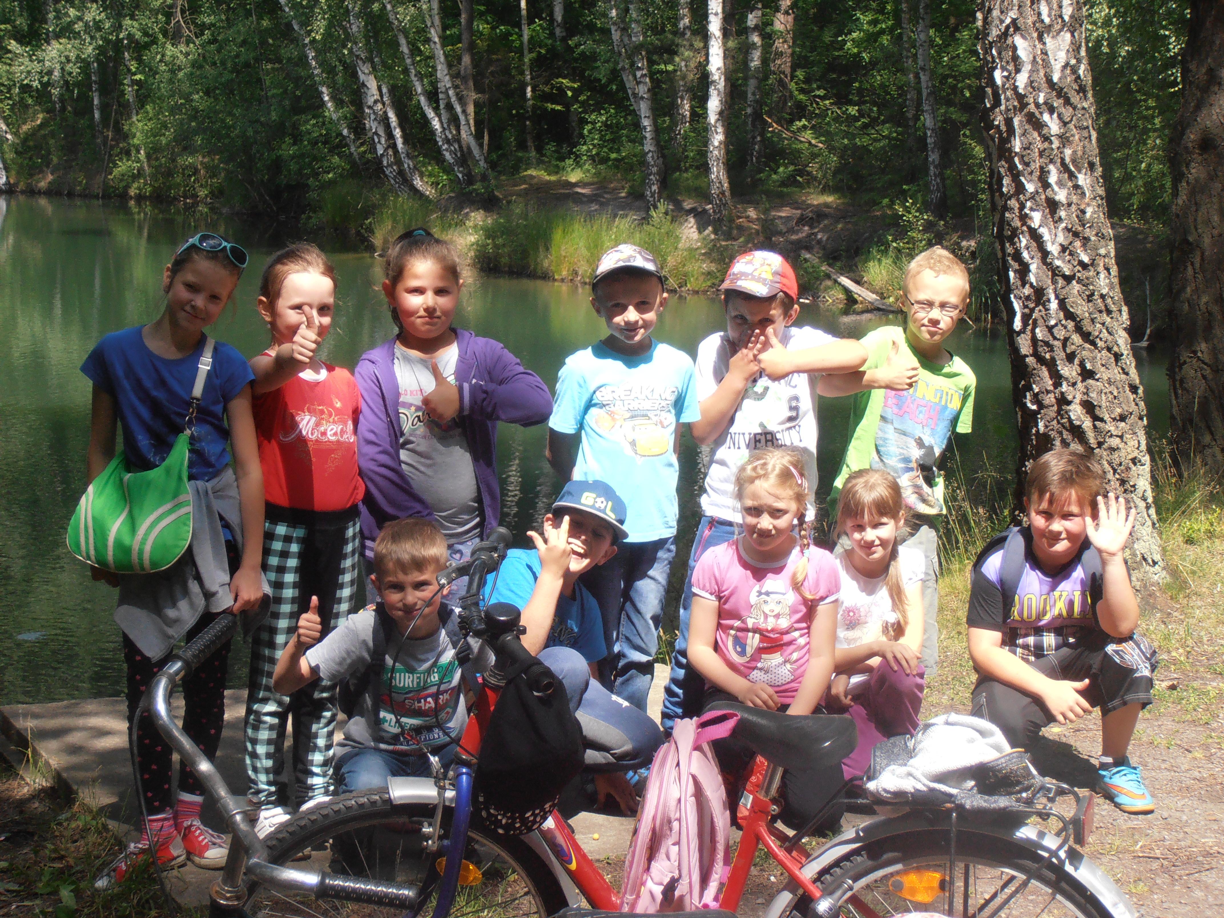 Wycieczka rowerowa klasy II