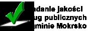 Przycisk przenosi do artykułu Raport zbadań jakości usług publicznych