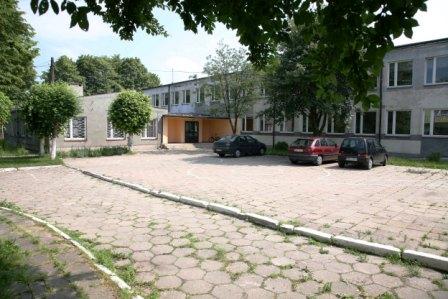 Budynek ZSiP Krzyworzeka